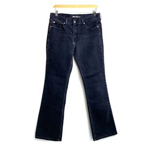 LEVI'S • 515 Black Boot Cut Demi Jeans